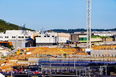Gosford Hospital building progress  May  17, 2018.   (h17ed)