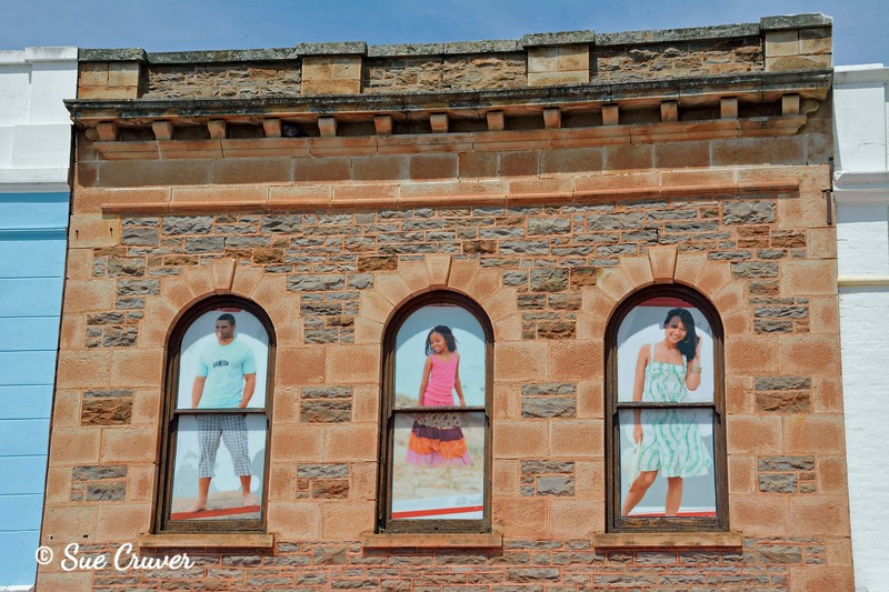 Paintings In the Windows
