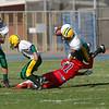 freshman gets tackledWLT