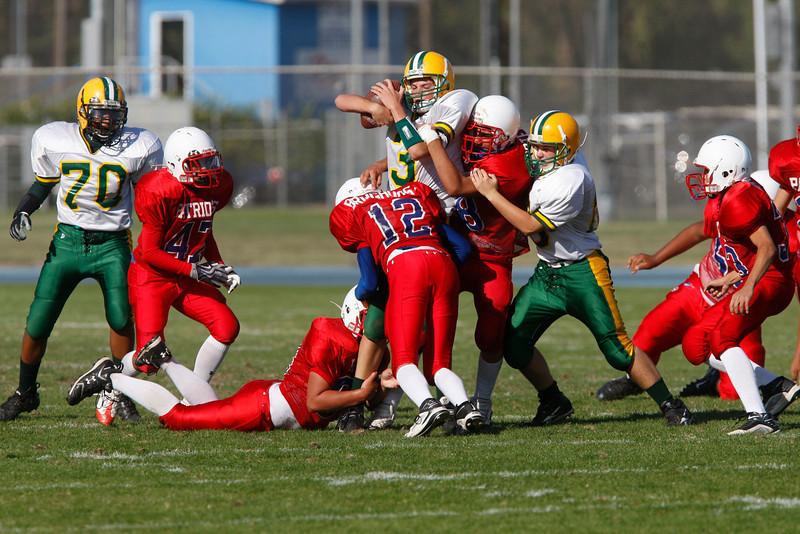hannah tackled vs Beyer