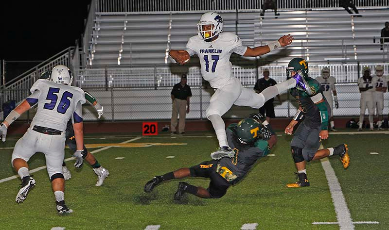 WLT Franklin QB Leap