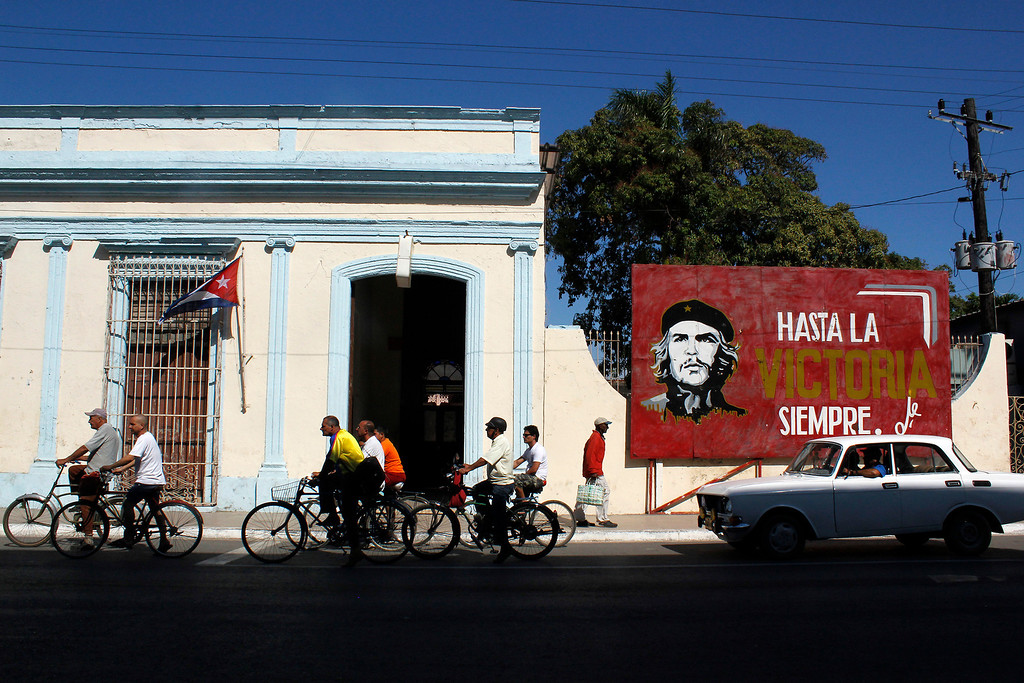 A street scene in Cardenas, Cuba on March 30, 2013. Photo by Stacey Rupolo/BU News Service.