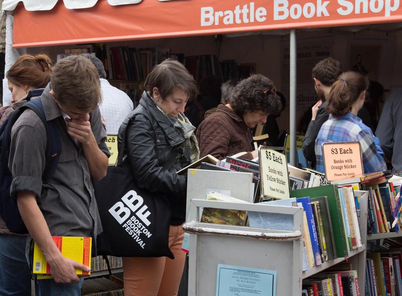 Boston Book festival shop