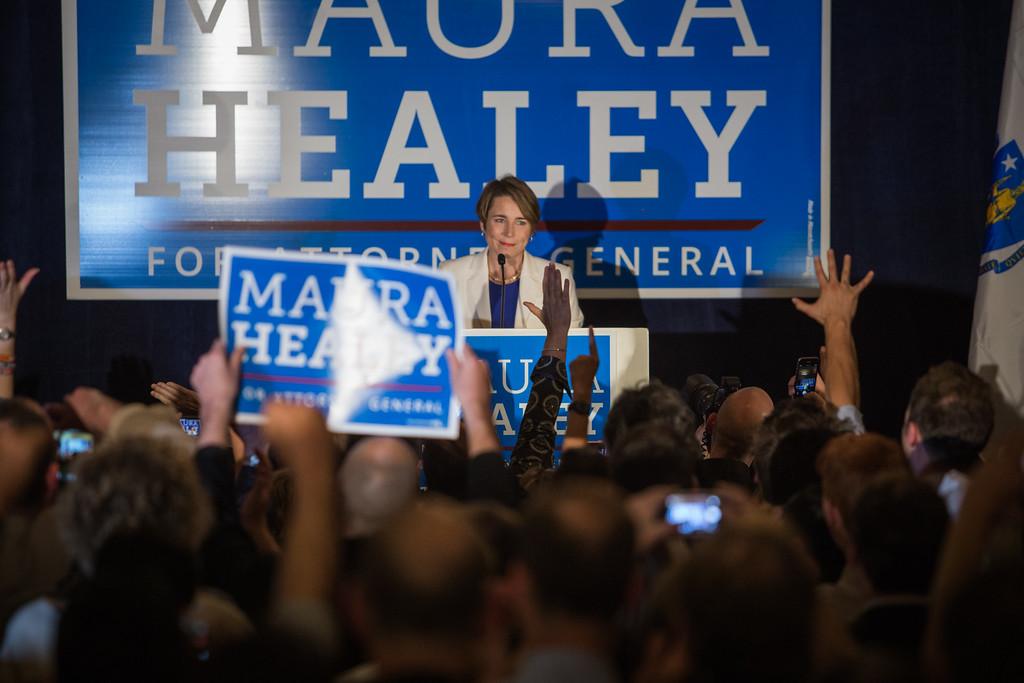 Martha Coakley Election Party 2014