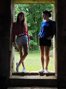 Ayesha and Trina