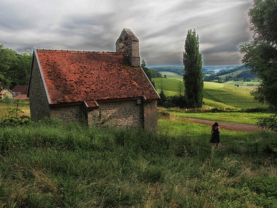 Chapel and Woman