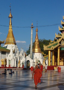 SHWEDAGON PAGODA - RANGOON