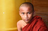 Shwedagon Pagoda, Yangon - Novice monk