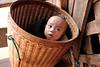A baby in the basket, Mrauk U village