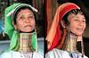 Kayan Padaung tribe long neck women. Ywama Village - Inle lake