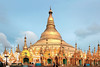 The Shwedagon Pagoda, 2500 years old, dominates Yangon as the holiest of holies for Burmese and is the very heart and soul of the country.