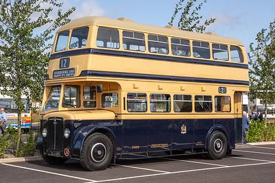 1950 Crossley DD42/7 with Crossley body