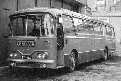1962 Leyland Leopard PSU3 with Harrington Cavalier body