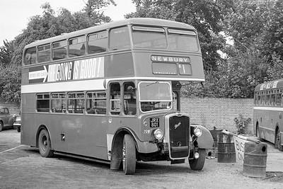 1954 Bristol KSW6B with ECW body