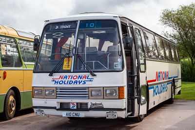 1984 Leyland Tiger with Duple Carribean body