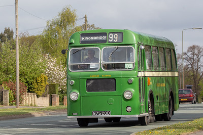1960 Bristol SUS4A with ECW body