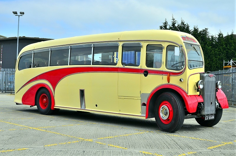 EX 6644 CROSSLEY SD42-7 1952