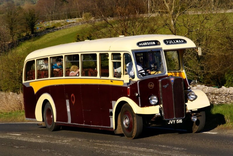 JVY 516 AEC REGAL 1954