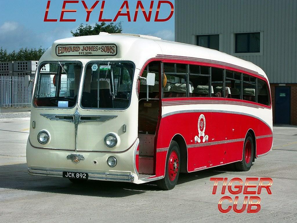 JCK 892 LEYLAND TIGER CUB-BURLINGHAM SEAGULL
