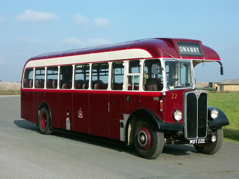MDT 222 AEC REGAL III 1953