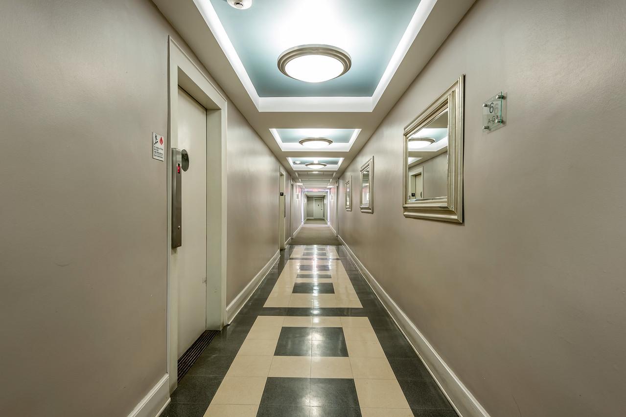 1133 Midland Avenue, Hallways