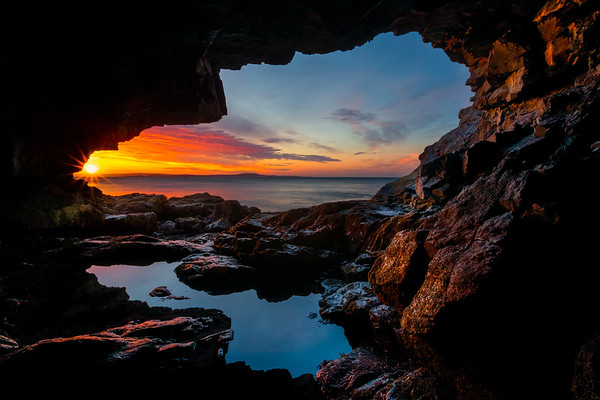 Sea Cave - Bold Coast of Maine