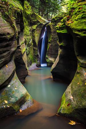 Corkscrew Falls - Hocking Hills, Ohio