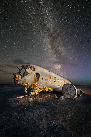 Plane Wreck - Iceland