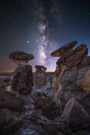Cliffside Hoodos - Utah