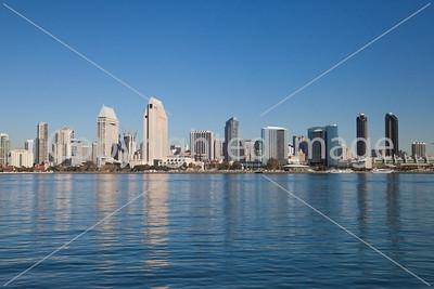 Downtown San Diego skyline, daytime