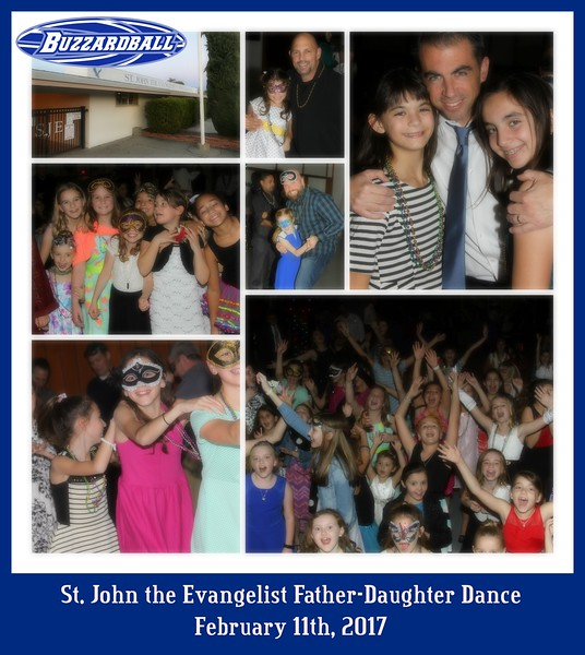 FEBRUARY 11TH, 2017 | St. John the Evangelist Father-Daughter Dance