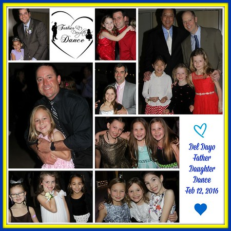 FEBRUARY 12H, 2016 | Del Dayo Father-Daughter Dance