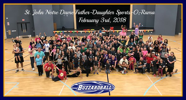 FEBRUARY 3RD, 2018 | St. John Notre Dame Father-Daughter Sports-O-Rama