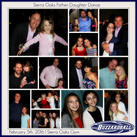 FEBRUARY 8TH, 2016 | Sierra Oaks Father-Daughter  Dance