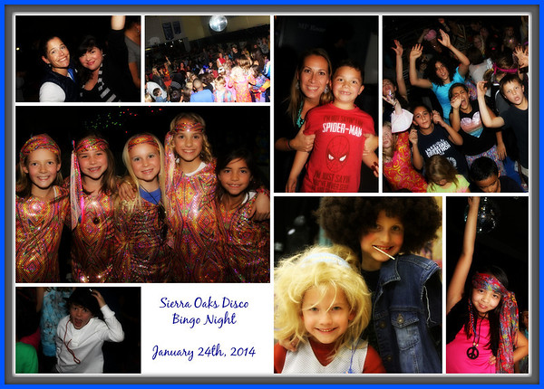 JANUARY 24TH, 2014: Sierra Oaks Disco Bingo Night