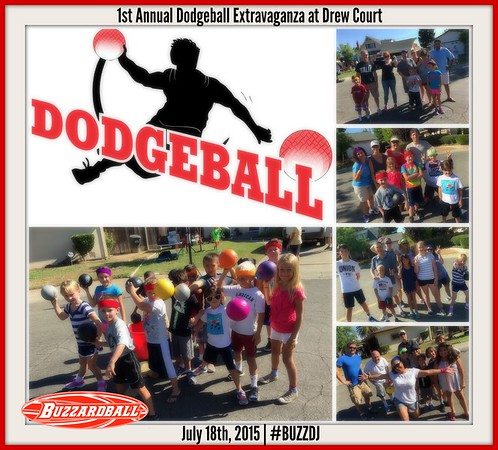 JULY 18TH, 2015 | DREW COURT DODGEBALL EXTRAVAGANZA