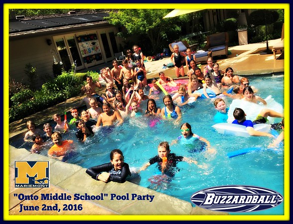 JUNE 2ND, 2016 | Mariemont 5th Grade Pool Party