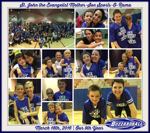 MARCH 18TH, 2016 | St. John the Evangelist Mother-Son Sports-O-Rama