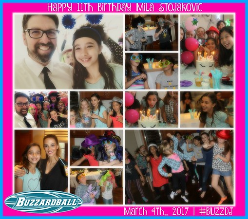 MARCH 4TH, 2017 | Mila Stojakovic 11th Birthday