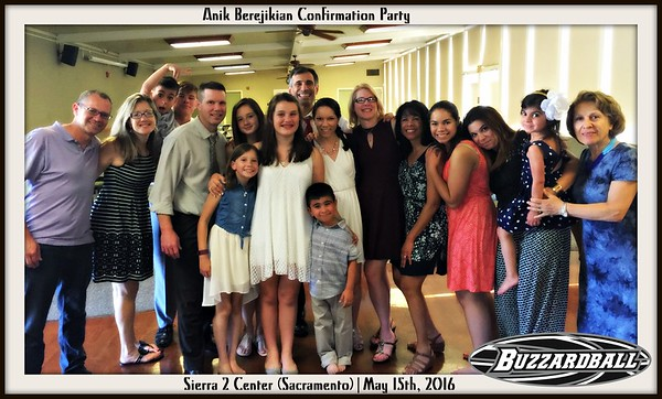 MAY 15TH, 2016 | Anik Berejikian Confirmation Party