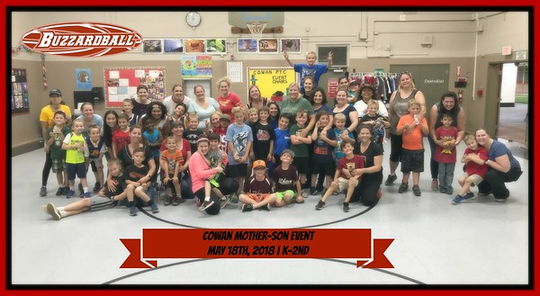 MAY 18TH, 2018 | Cowan Elementary Mother-Son Event
