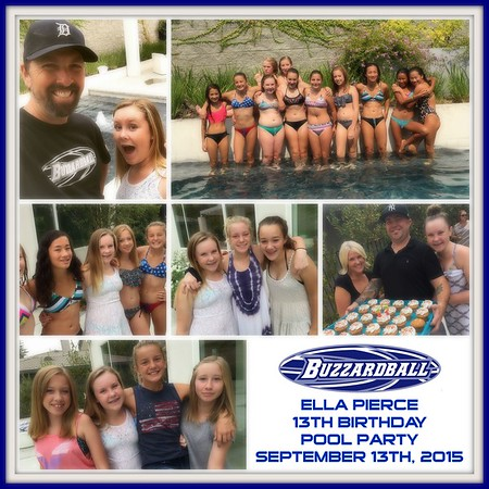 SEPTEMBER 13TH, 2015 | ELLA PIERCE 13TH BIRTHDAY SWIM PARTY