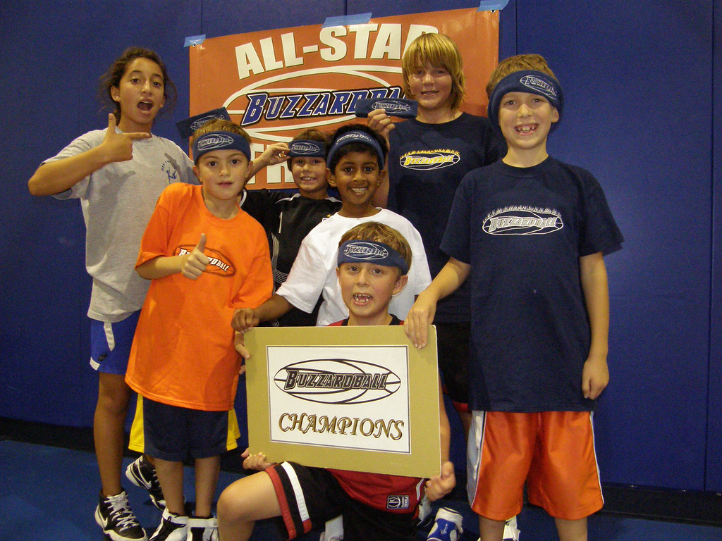 SESSION 5 CHAMPS: THE CHARLOTTE BOBCATS -- defeated the ATLANTA HAWKS 36-34 after Sydney Selix tied the game with a 6-pointer and Captain Mitch Refnes scored the game winner with 3.8 seconds left to go in the game.