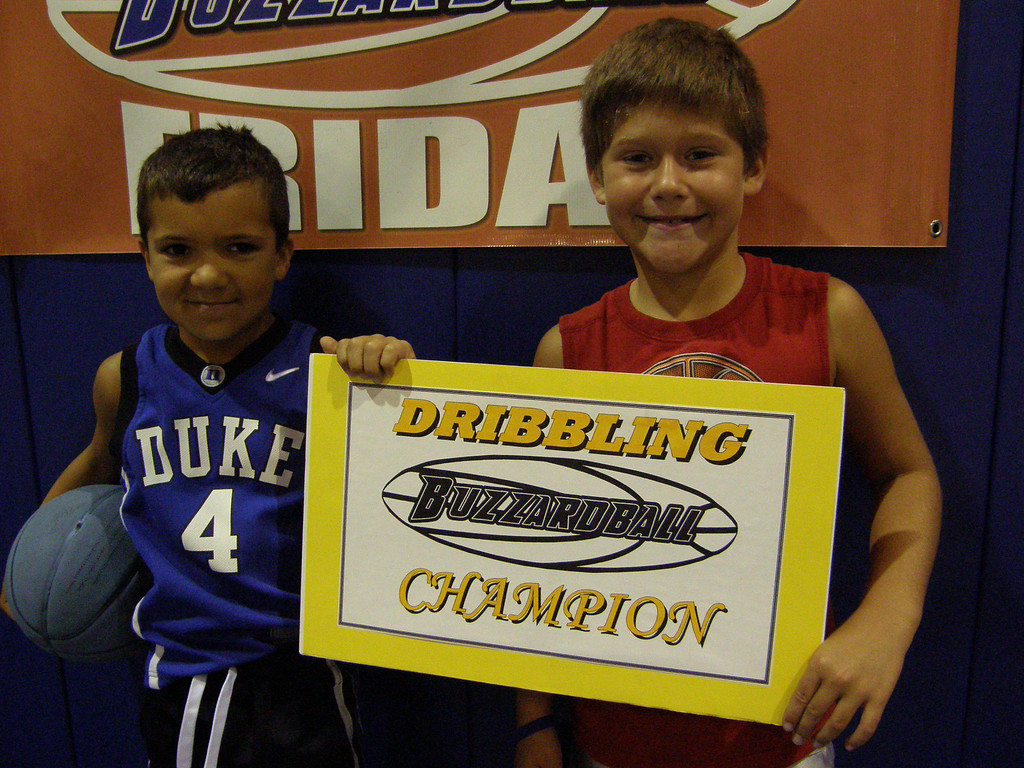 NATE PARRY & LOGAN WHEELER (MAGIC): scored 1st place when they dribbled to our all-popular APACHE dance.