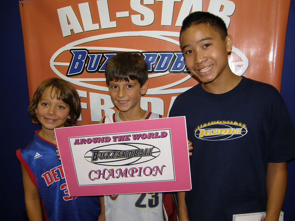 4TH-8TH GRADE CHAMPS: ATLANTA HAWKS REGISTER A TIME OF 1:25 (:03 BETTER THAN THE TWOLVES)