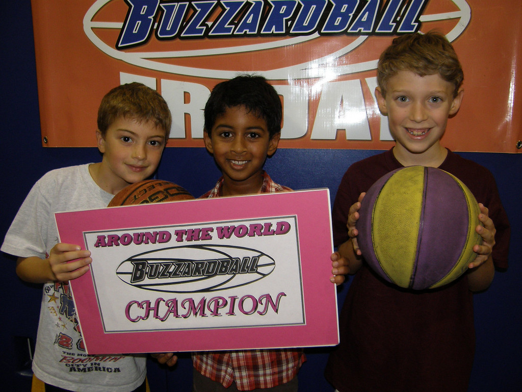 1ST-3RD GRADE CHAMPS: CHARLOTTE BOBCATS REGISTER A TIME OF 1:02 (:02 BETTER THAN THE HAWKS)