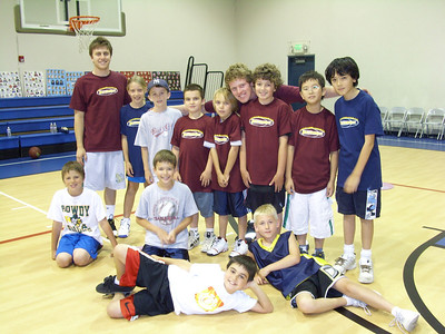 OUR FIRST DAY LAY-UP CHAMPIONS: THE 4TH GRADERS