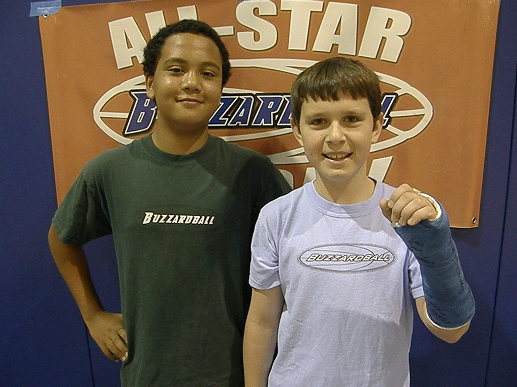 BACK AND FORTH CHAMPS: KNICKS' ISAAC TEKOLA AND RYAN MILLER -- 10 POINTS