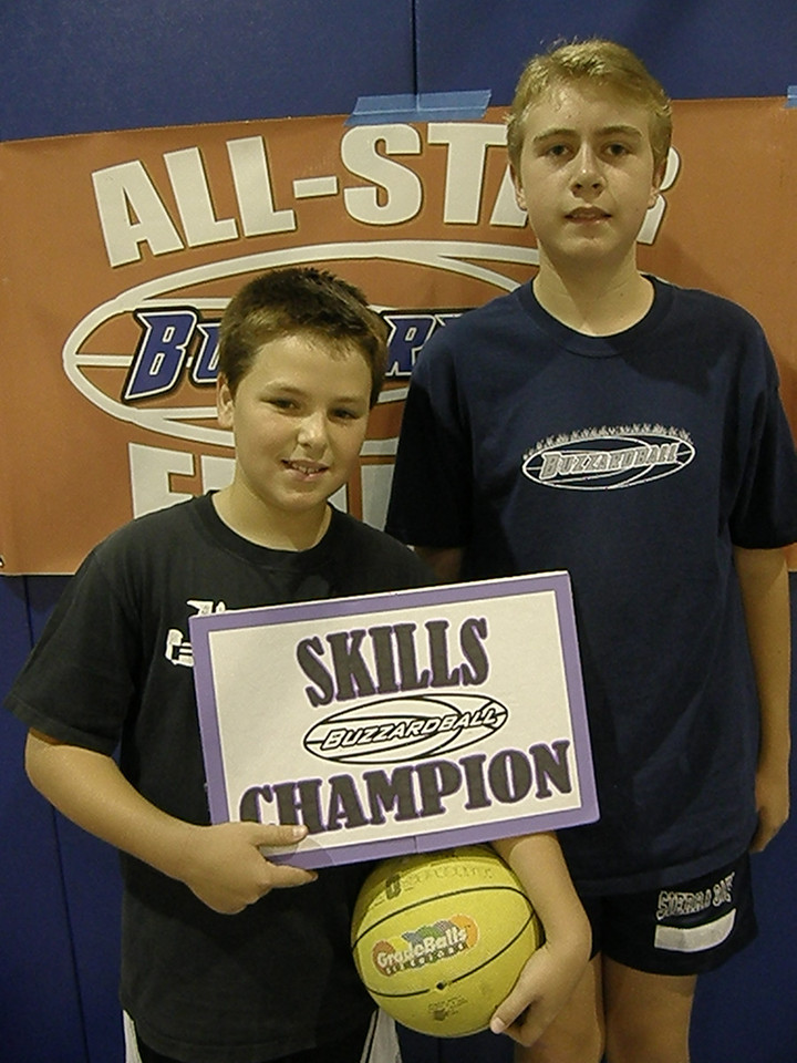 HOW MANY CHAMPS: ROCKETS' TOPH BUZZARD AND TYLER RICHARDSON -- 49 POINTS