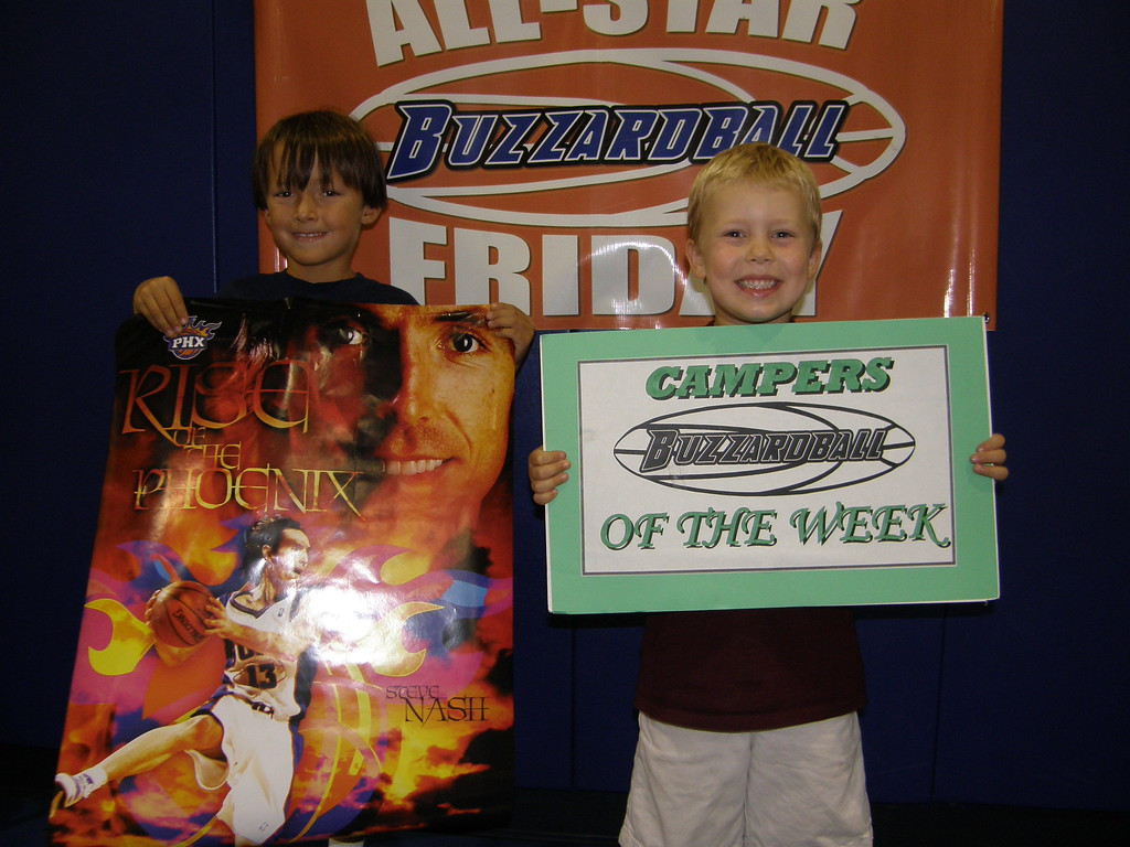 CAMPERS OF THE WEEK: COOPER BLACK (Steve Nash) and JACK DEANER (Lebron James)